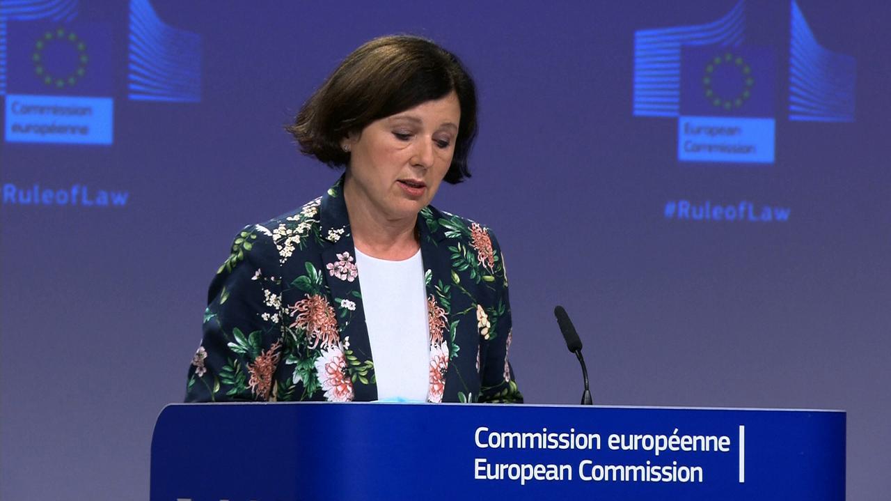 Jourova: komisarz do spraw sprawiedliwości ma skłonić Polskę do wykonania wyroku w sprawie Izby Dyscyplinarnej