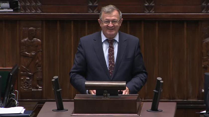Tadeusz Cymański o rozszerzeniu zwolnienia z podatku od spadków i darowizn