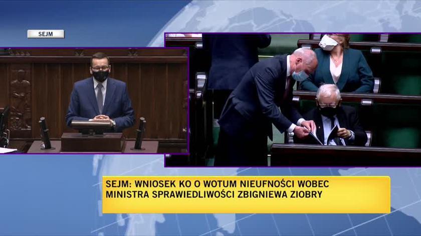 Morawiecki: dbanie o najsłabszych to jest motto resortu sprawiedliwości