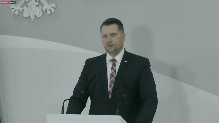 Czarnek: proponujemy pakiet wolnościowy, pakiet wolności akademickiej