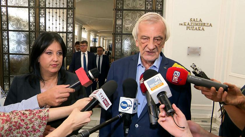 Terlecki: negocjacje w sprawie rekonstrukcji zostały zawieszone