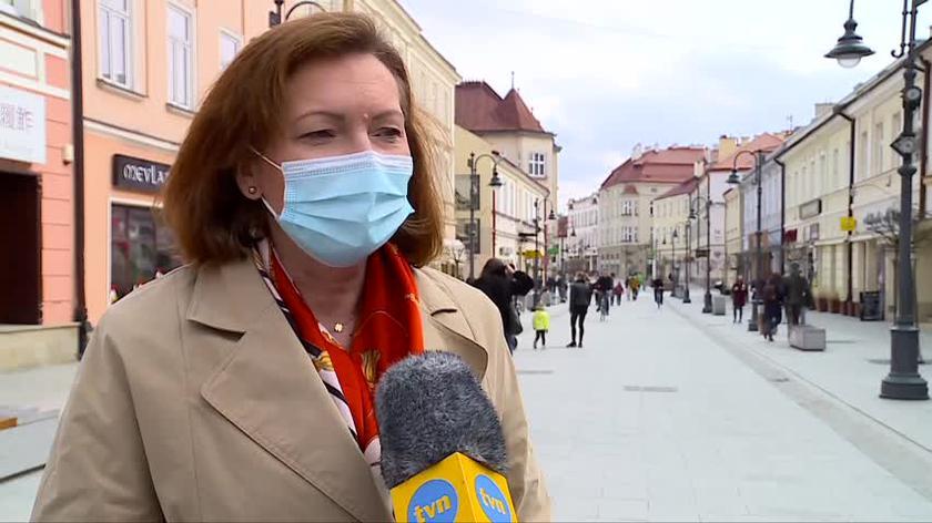 Ewa Leniart o wynikach sondażu na prezydenta Rzeszowa