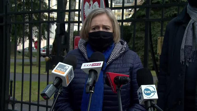 Nowicka: składamy wniosek do prokuratury o możliwości popełnienia przestępstwa przez Krystynę Pawłowicz