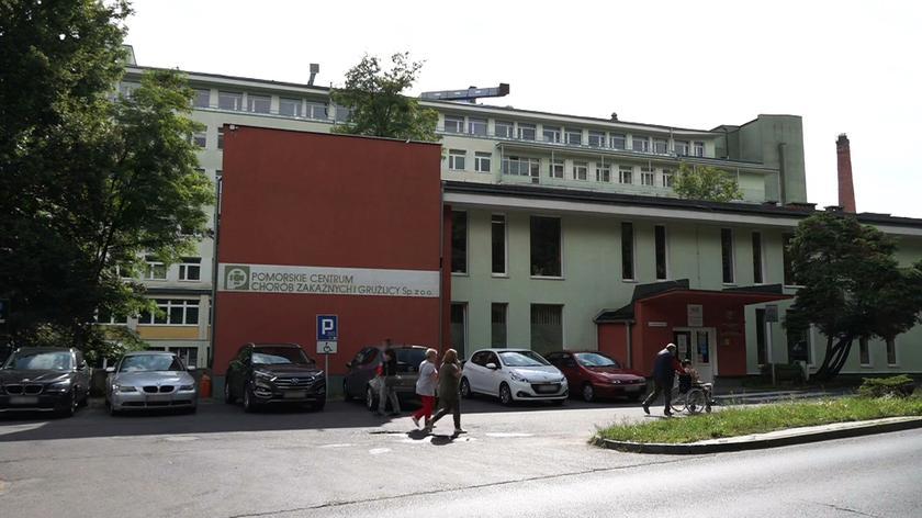20 osób w szpitalu zakaźnym w Gdańsku