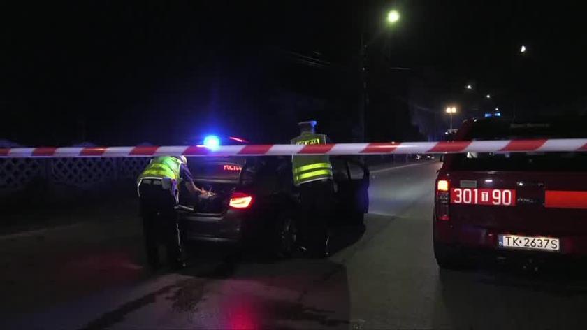 Wypadek w Daleszycach. Zginęła kobieta i dziecko