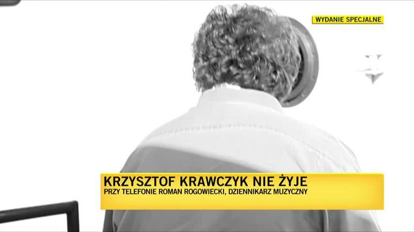 Rogowiecki o Krawczyku: Krzysztof swoimi piosenkami doskonale wplatał się w nasze życie