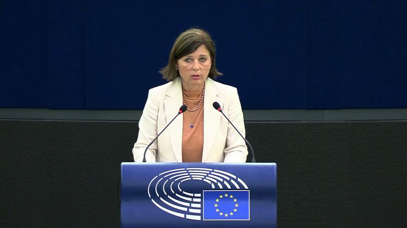 Jourova: obawiamy się, że strategia repolonizacji mediów jest sprzeczna z naszymi wartościami: wolnością mediów, pluralizmem