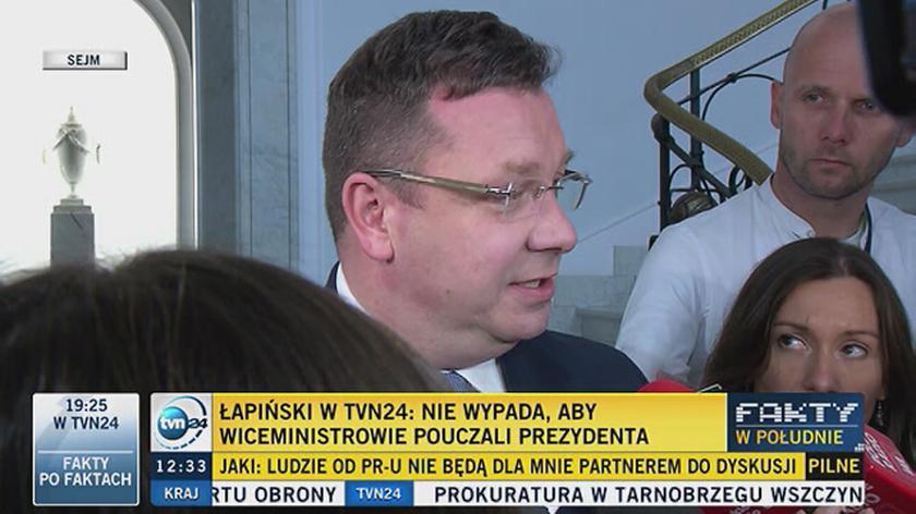 Wójcik: to, że jestem wiceministrem sprawiedliwości zawdzięczam śp. Lechowi Kaczyńskiemu
