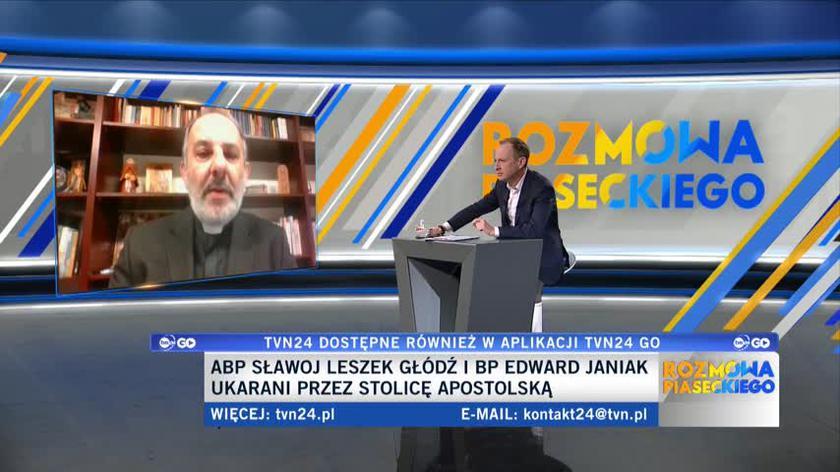 Ks. Isakowicz-Zaleski: było widać wyraźnie, że sam Kościół w Polsce nie da sobie rady z tymi problemami