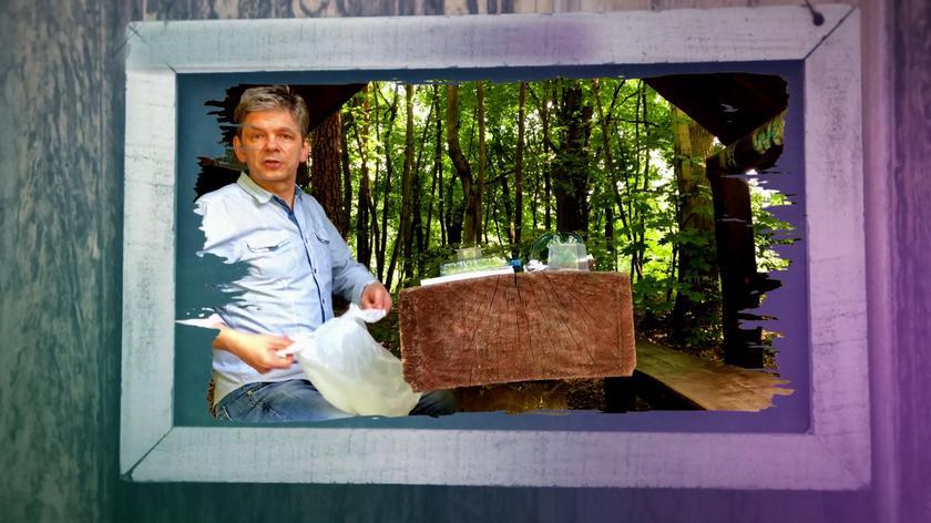 Filip Łobodziński rozprawia się z plastikiem