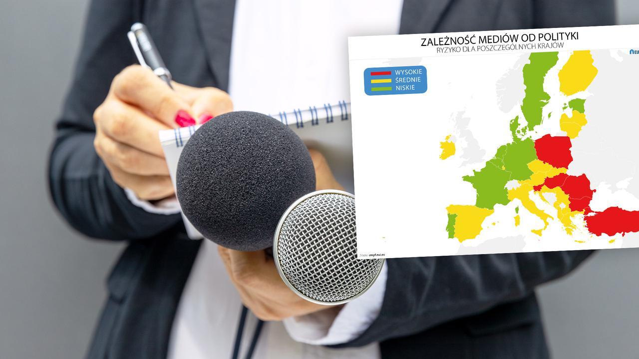 Zagrożenia dla mediów w Europie. W Polsce