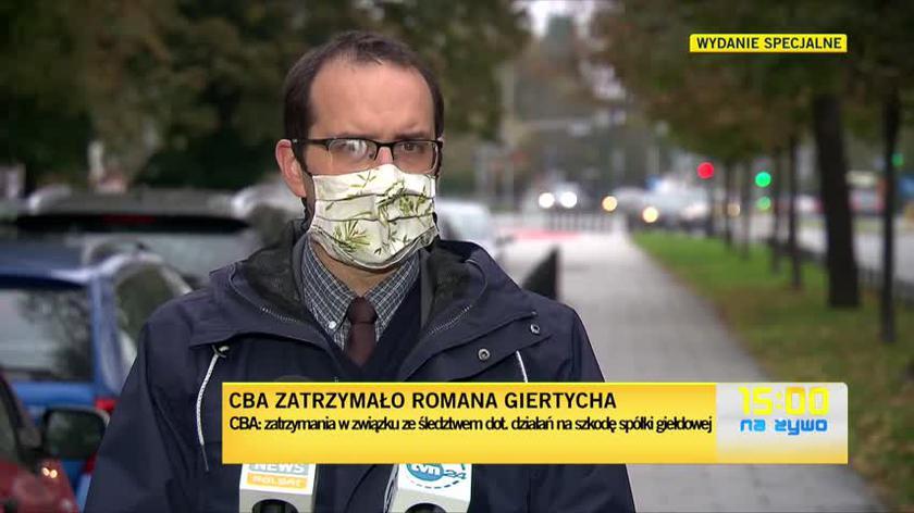 Stanisław Żaryn o zatrzymaniu Romana Giertycha