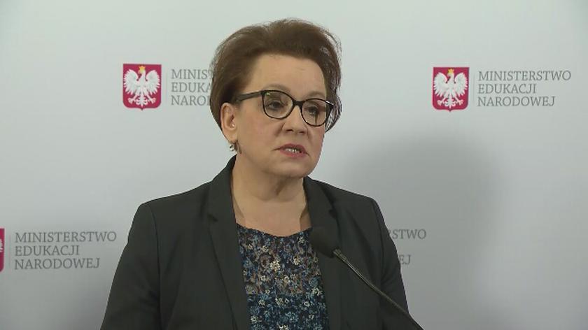 Minister edukacji o rekrutacji do szkół średnich w 2019 roku
