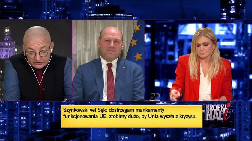 Kamiński: wszystko co robi ten rząd wskazuje, że on nie chce kompromisu z Unią Europejską