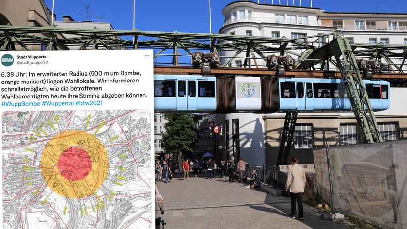 Wuppertal jest położony w Nadrenii Północnej-Westfalii