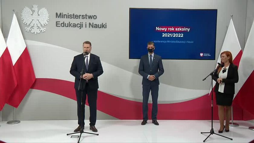 Minister Czarnek o przygotowaniu do nowego roku szkolnego