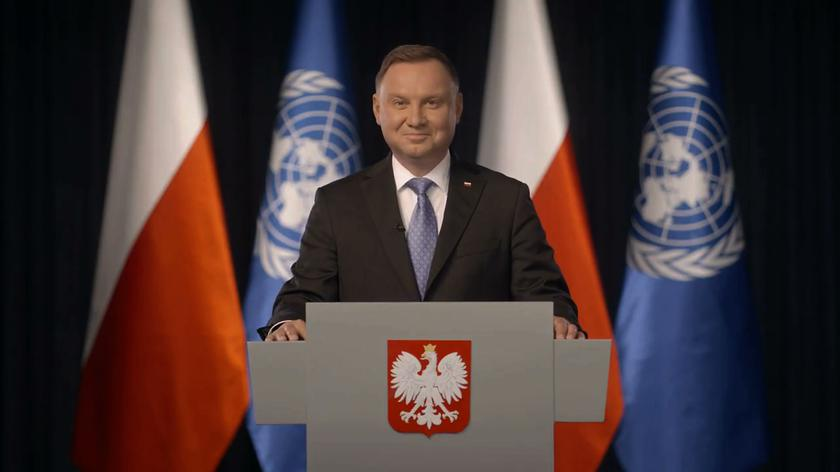 Andrzej Duda: głęboko wierzymy w możliwość pokojowego współistnienia państw