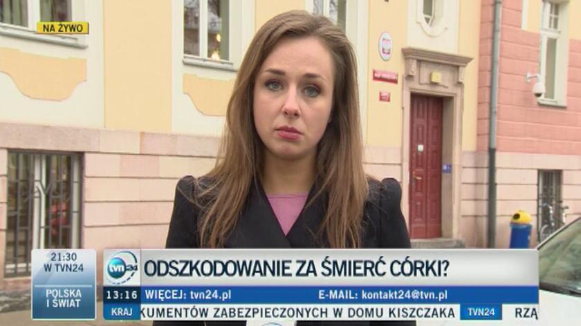 Bartłomiej Bonk walczy o odszkodowanie za śmierć córki