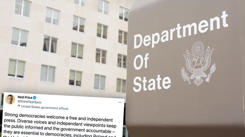 Rzecznik Departamentu Stanu USA: silne demokracje cieszą się wolną i niezależną prasą