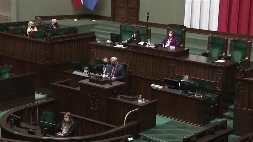 Niedzielski: oczekuję od Prezydium Sejmu podjęcia stanowczych, surowych kroków, bo ostatnio tylko potakujemy głową