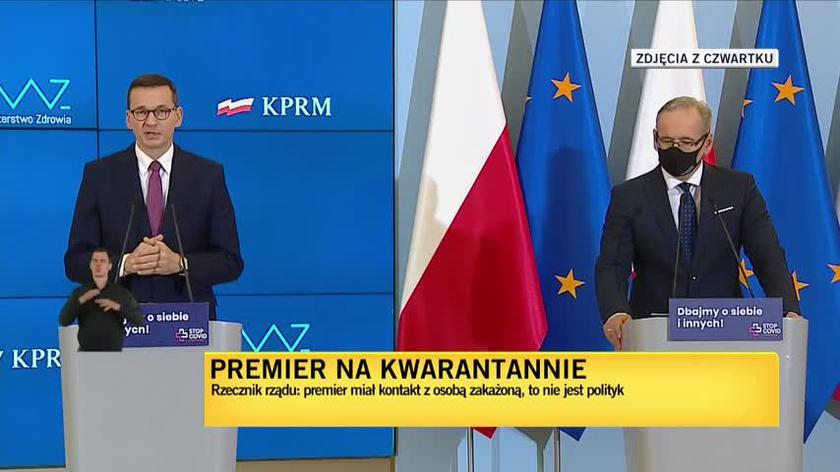 """Krzysztof Skórzyński, """"Fakty"""" TVN: Trwa analiza, z kim osoba zakażona miała jeszcze kontakt poza premierem. Na liście nie ma żadnego innego polityka"""
