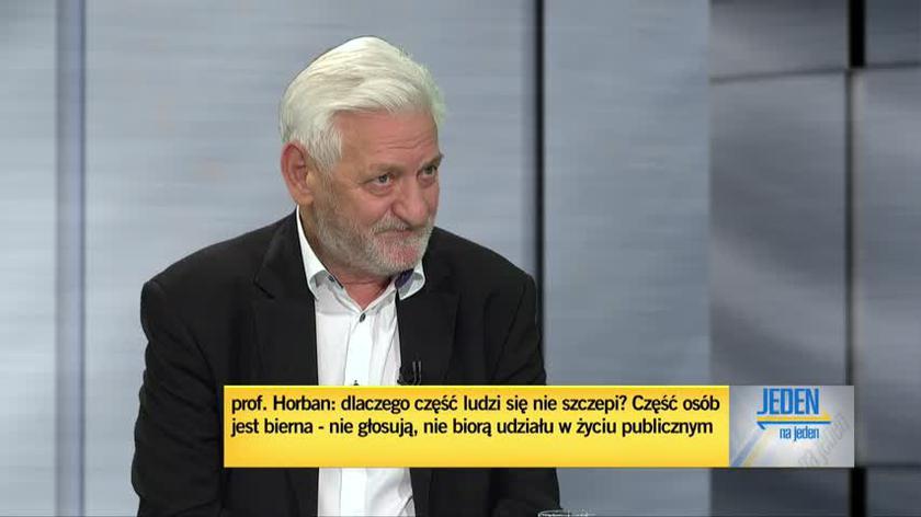 Horban: nie będziemy mieli odporności populacyjnej
