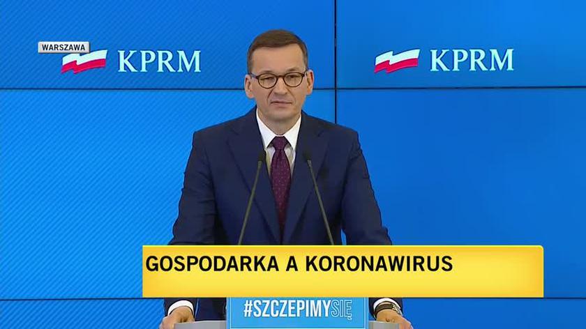 Mateusz Morawiecki o opłacie od reklam
