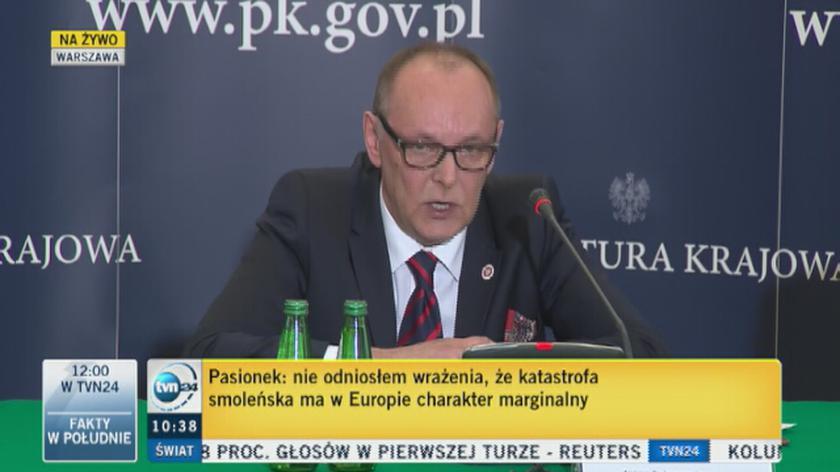 Konferencja prokuratorów w sprawie katastrofy smoleńskiej