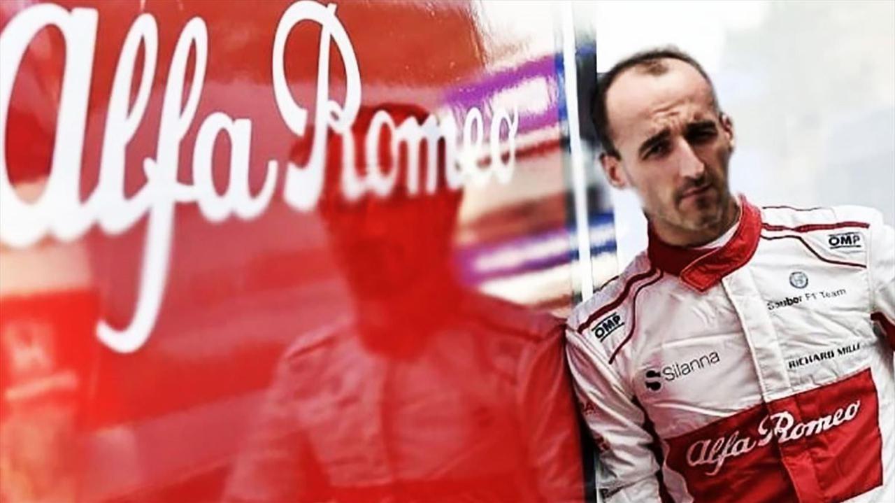 Kubica wraca na tor Formuły 1