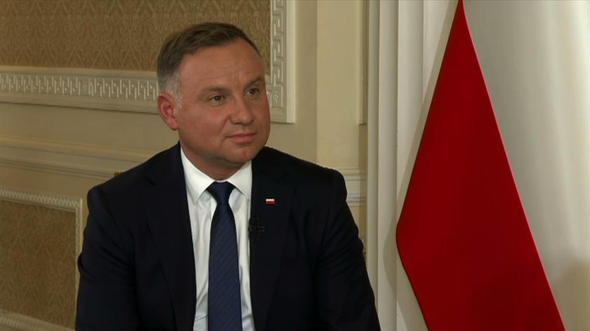 Prezydent Duda o Borys i Poczobucie: na razie nie umiemy znaleźć żadnego rozwiązania, które spowodowałoby ich uwolnienie