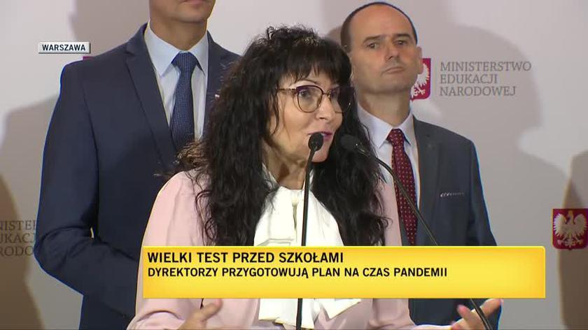 Maria Jolanta Nawrocka-Rolewska, wicedyrektorka Szkoły Podstawowej nr 380 w Warszawie o przygotowaniach do nowego roku szkolnego