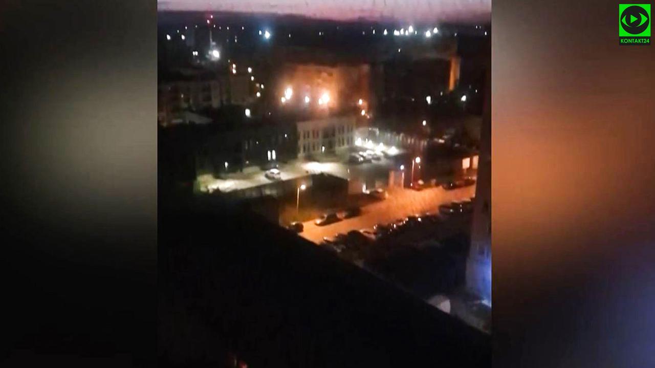 Nagła pobudka w środku nocy, o godzinie 3 zawyły policyjne syreny