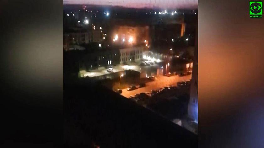 Sygnały policyjne rozbrzmiały o 3 w nocy