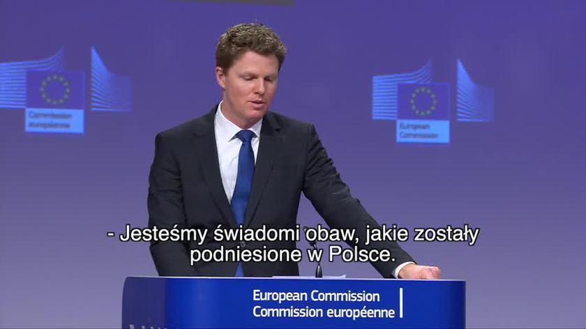 Komisja Europejska o proteście polskich mediów