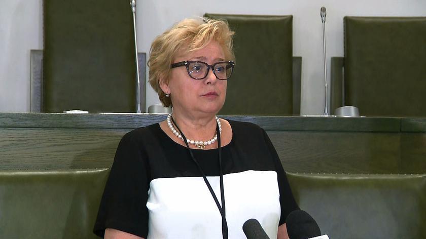 Gersdorf: skrócenie kadencji zawsze będzie naruszeniem ustawy zasadniczej