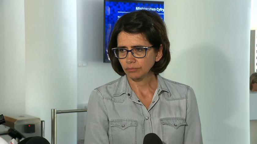Miller: panią Streżyńską może skarcić, bo za nią nie stoi wielkie zaplecze polityczne i ona nie ma wielkiej pozycji politycznej