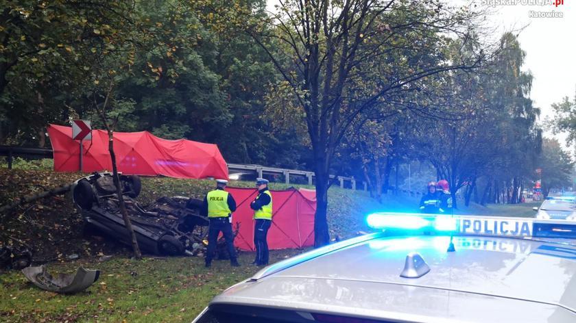Do wypadku doszło 7 października. Zginęło dwóch młodych mężczyzn