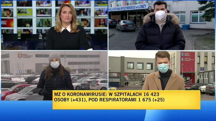 Jak krakowskie szpitale radzą sobie z trzecią falą?