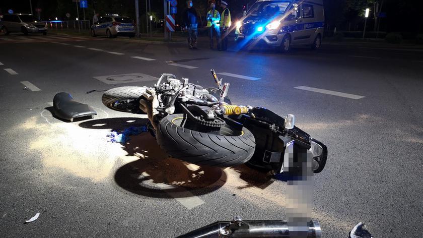 Leszno, Al. Jana Pawła II: Motocyklista zginął w wypadku