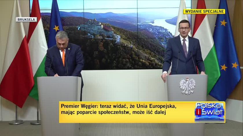 Morawiecki: weto to dobre narzędzie, czasami musi zostać wykorzystane, ale dziś udało się tego uniknąć