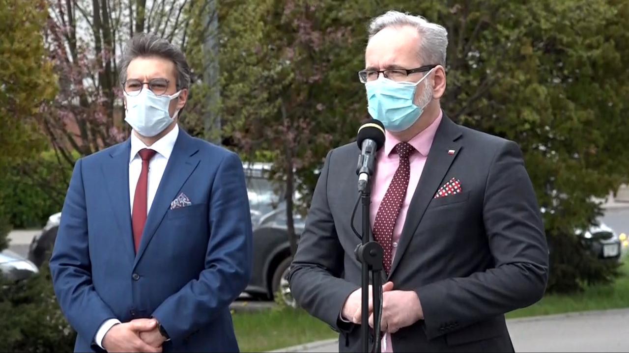 Minister zdrowia: mamy informacje o pojawieniu się wariantu brazylijskiego w Polsce
