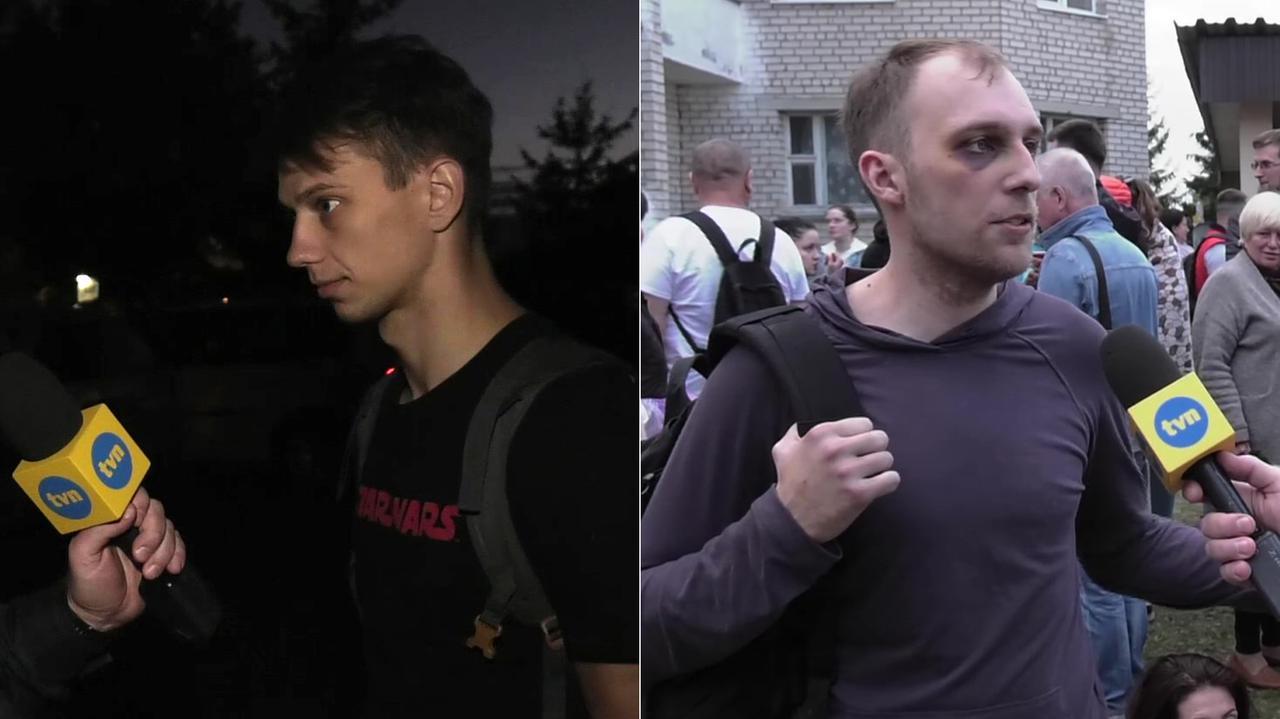 Polacy zatrzymani na Białorusi opowiadają o torturach.