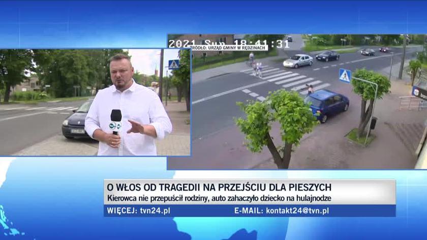 Rędziny: Rozpędzone auto zahaczyło o dziecko. Wójt walczy o fotoradar