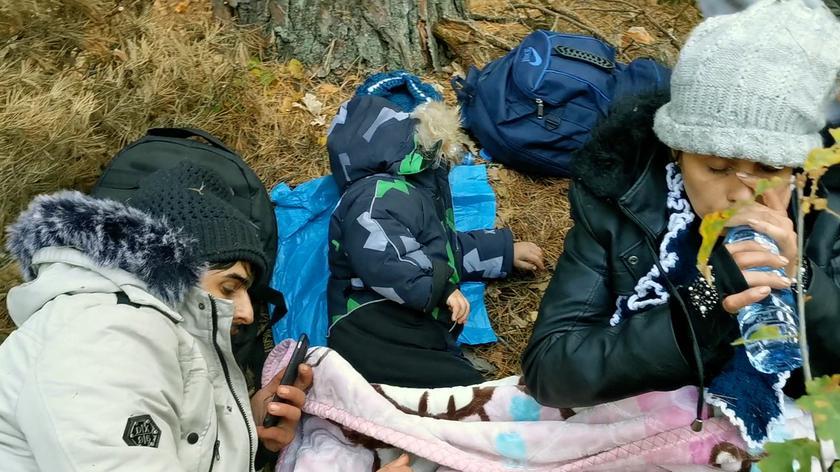 Lekarka o sytuacji na granicy polsko-białoruskiej: różne sytuacje widziałam, ale nie widziałam takiej tragedii humanitarnej