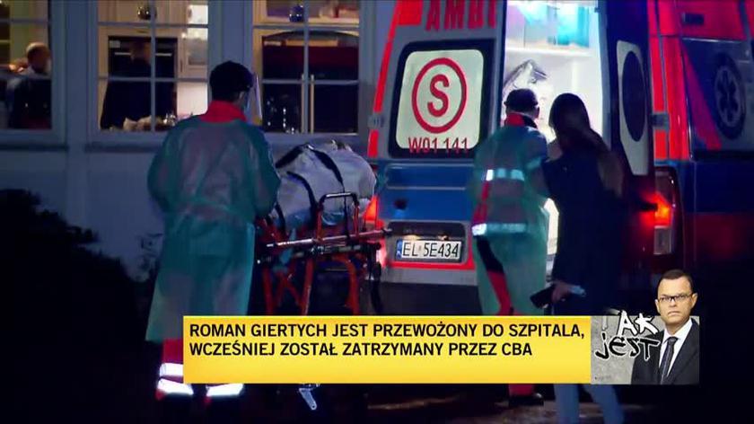 Obrońcy Romana Giertycha: Od wielu godzin prowadzone są przeszukania. Naszym zdaniem w sposób bezprawny
