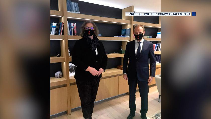 Tusk: bardzo sobie cenię spotkanie z panią Martą Lempart