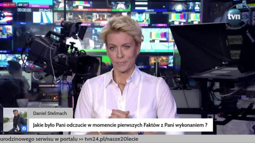 """Co czuła Anita Werner podczas pierwszego wydania """"Faktów""""?"""