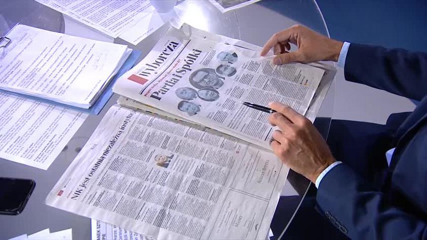 Przegląd prasy: Partia i Spółki