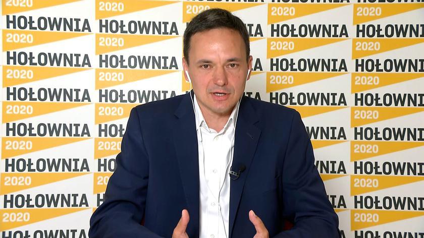 Cichocki: Szymon Hołownia chce być prezydentem różnych Polaków i nikogo nie wykluczać