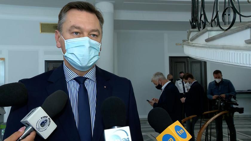 Martynowski o lex TVN: z Sejmu wyszła ustawa z takimi właśnie zapisami niekonstytucyjnymi